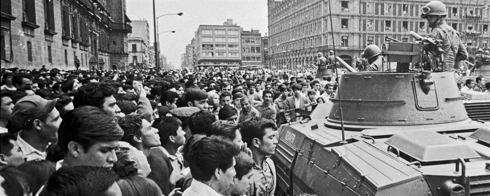 Why did students and workers protest in 1968?