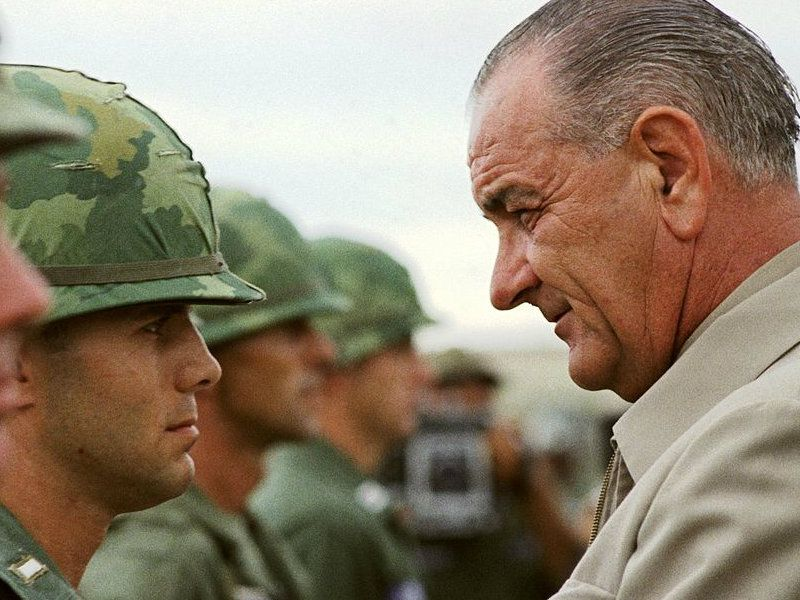 When is the official date the United States began to participate in the Vietnam War?