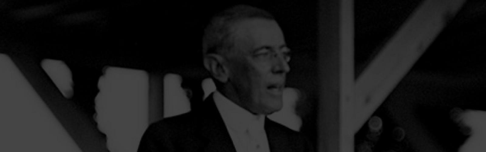 Wilson's First World War Agenda
