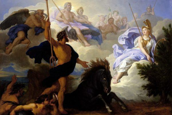 René-Antoine_Houasse_-_The_Dispute_of_Minerva_and_Neptune,_1689