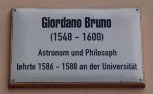 The Forces Behind the Killing of Giordano Bruno