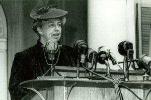 Eleanor Roosevelt Speech