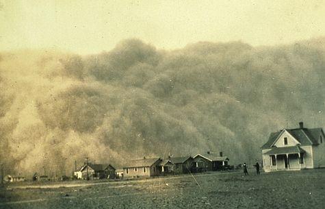 Dust Storm Texas 1935